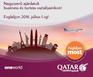Qatar Airways repülőjegy akciók
